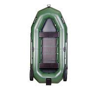 Лодка надувная гребная трехместная Bark B-300NP (БАРК B-300NP)