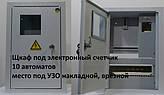 Щкаф под электронный счетчик 10 автоматов место под УЗО