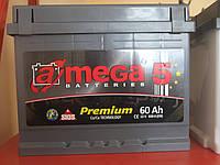 Аккумулятор автомобильный A-mega 6СТ-60 Аз Premium