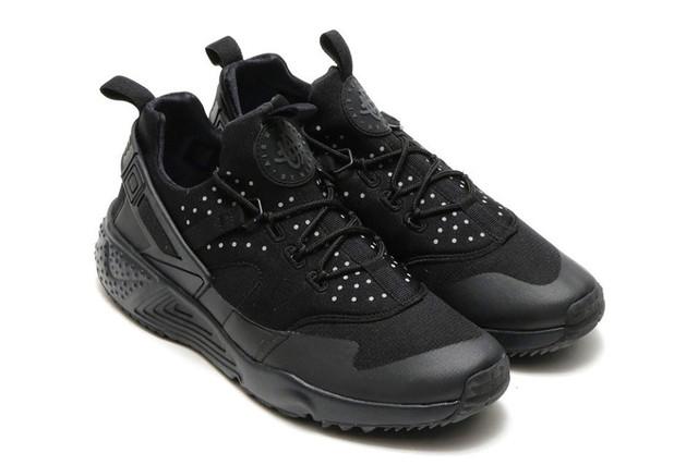 varios diseños nuevos precios más bajos marcas reconocidas Кроссовки мужские Nike Huarache Utility All Black (найк, оригинал) черные