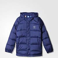 Детский пуховик Adidas Midnight Indigo (Артикул: AB2136)