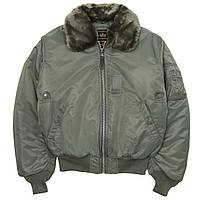 Летная куртка B-15 flight jacket Alpha Industries