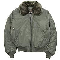 Летная куртка B-15 flight jacket Alpha Industries, фото 1
