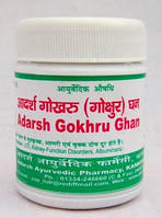 Противовоспалительное средство для мочевой системы Гокхру Гхан Вати 20 грамм 50 таблеток