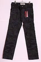 """Чоловічі камуфляжні джинси, з накладними кишенями """"iteno"""" 38размер."""