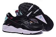 Кроссовки женские Nike Huarache Aloha Pack (найк, оригинал) черные