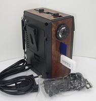 Радиоприемник Golon RX-078, колонка mp3 проигрыватель, фото 4