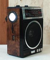 Радиоприемник Golon RX-078, колонка mp3 проигрыватель, фото 2