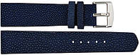Ремешок для часов из кожи Ската 0701. STWS 01 Dark Blue