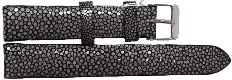 Ремешок для часов из кожи Ската 0706. STWS 04 SA Black