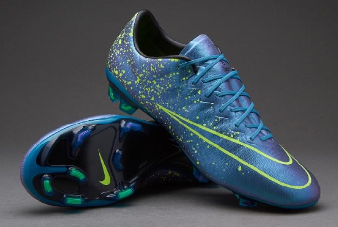 3d579339 Бутсы Nike Mercurial Vapor X FG 648553-440 Синие, Найк меркуриал (Оригинал)