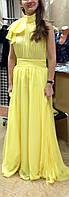 Платье Chanel шелковое длинное