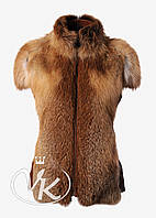 Меховой жилет из лисы