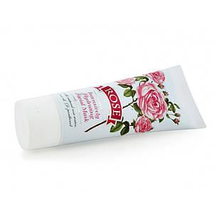 Увлажняющая маска для лица с маслом розы Болгарская Роза Rose 50 мл, фото 2