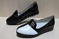 Туфли лоферы на девочку, школьная детская обувь тм Тom.m р.31,36