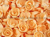 Вафельные цветы - Розы Чайные малые 160 шт