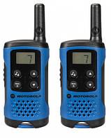 Рация портативная Motorola TLKR T41 Blue (радиус действия до 4 км)