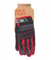 Перчатки Green Cycle NC-2373-2014 MTB с закрытыми пальцами XL черно-красные