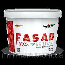 Kompozit Fasad Latex фасадна фарба 10 л