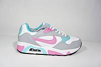 Женские кроссовки Nike Air Max, кожа, Р. 37 38 39, фото 1