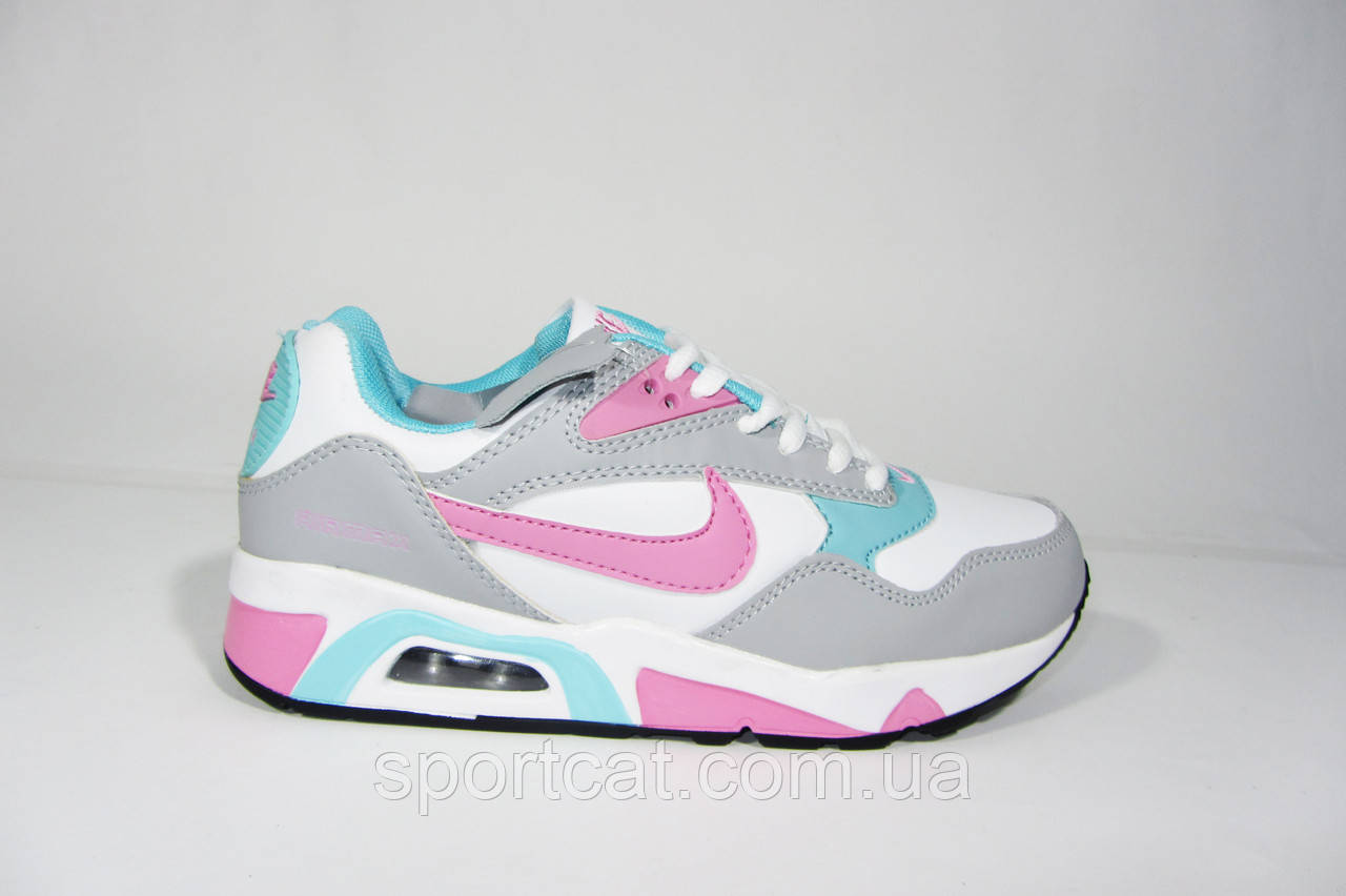 Женские кроссовки Nike Air Max, кожа, Р. 37 38 39