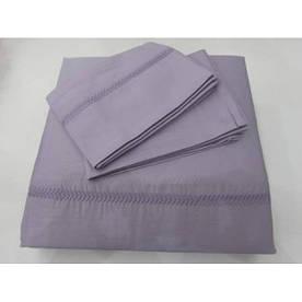 Постельное белье Tac Hotel Life Kio Nakisli V-3 mor фиолетовый евро размер