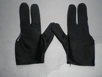 Перчатки для игры в бильярд