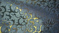 Шенилл Флори голубая ткань обивочная