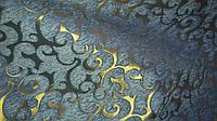 Шенилл Флори голубая ткань обивочная, фото 1