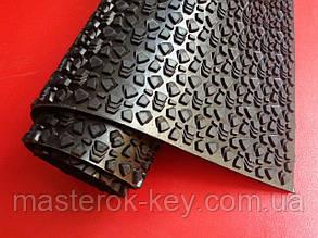 Профилактика листовая МАГНА ЗИМА Украина 550*550*4 мм цвет чёрный