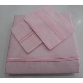 Постельное белье Tac Hotel Life Mio V-2 pembe розовый евро размер