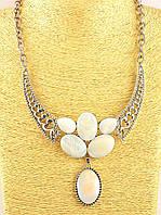 Ожерелье из натурального перламутра