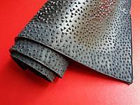 Профилактика листовая каучуковая ШИП, 300х600х2.5 мм, цв. чёрный