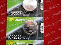CR2025 GP Батарейки Литиевые