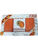 Набор кухонных махровых полотенец Фрукты
