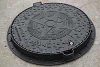 Люк канализационный средний с защитой от краж «KBL03P EUROPA» В125 15 тонн