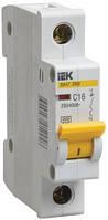 Автоматический выключатель ВА47-29М 1P 16 А х-ка B, IEK