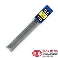 Economix Стержни к механическому карандашу 0,5мм НВ, 2В  (24) арт.E10801