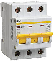 Автоматический выключатель ВА47-29М 3P 25 А х-ка D, IEK