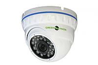 "Купольная AHD камера Green Vision GV-022-AHD-E-DOA10-20 1/4"" Aptina CMOS 1.0MP, 1280x720 объектив 3,6мм"