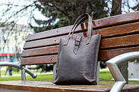 "Шкіряна сумка ""Alta"", унісекс женская  мужская кожаная сумка , ручної роботи, натуральна шкіра"