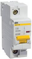 Автоматический выключатель ВА47-100 1P 10 А х-ка C, IEK