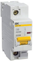 Автоматический выключатель ВА47-100 1P 16 А х-ка C, IEK