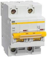 Автоматический выключатель ВА47-100 2P 10 А х-ка D, IEK