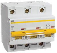 Автоматический выключатель ВА47-100 3P 25 А х-ка C, IEK