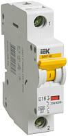Автоматический выключатель ВА47-60 1P 16 А х-ка D, IEK