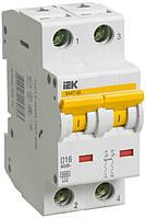 Автоматический выключатель ВА47-60 2P 6 А х-ка D, IEK