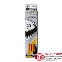 Marco Карандаши чернографитные НВ с резинкой пегашка  арт. 1021Е-12СВ (за 12шт)