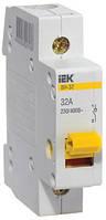 Выключатель нагрузки ВН-32 1P 20 А, IEK