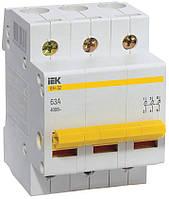 Выключатель нагрузки ВН-32 3P 63 А, IEK